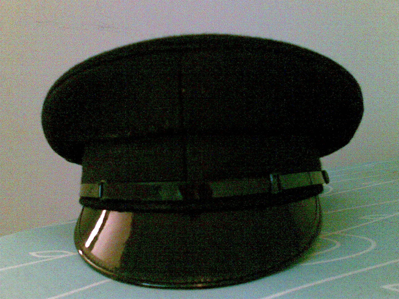 Black luxury Chauffeurs Hat