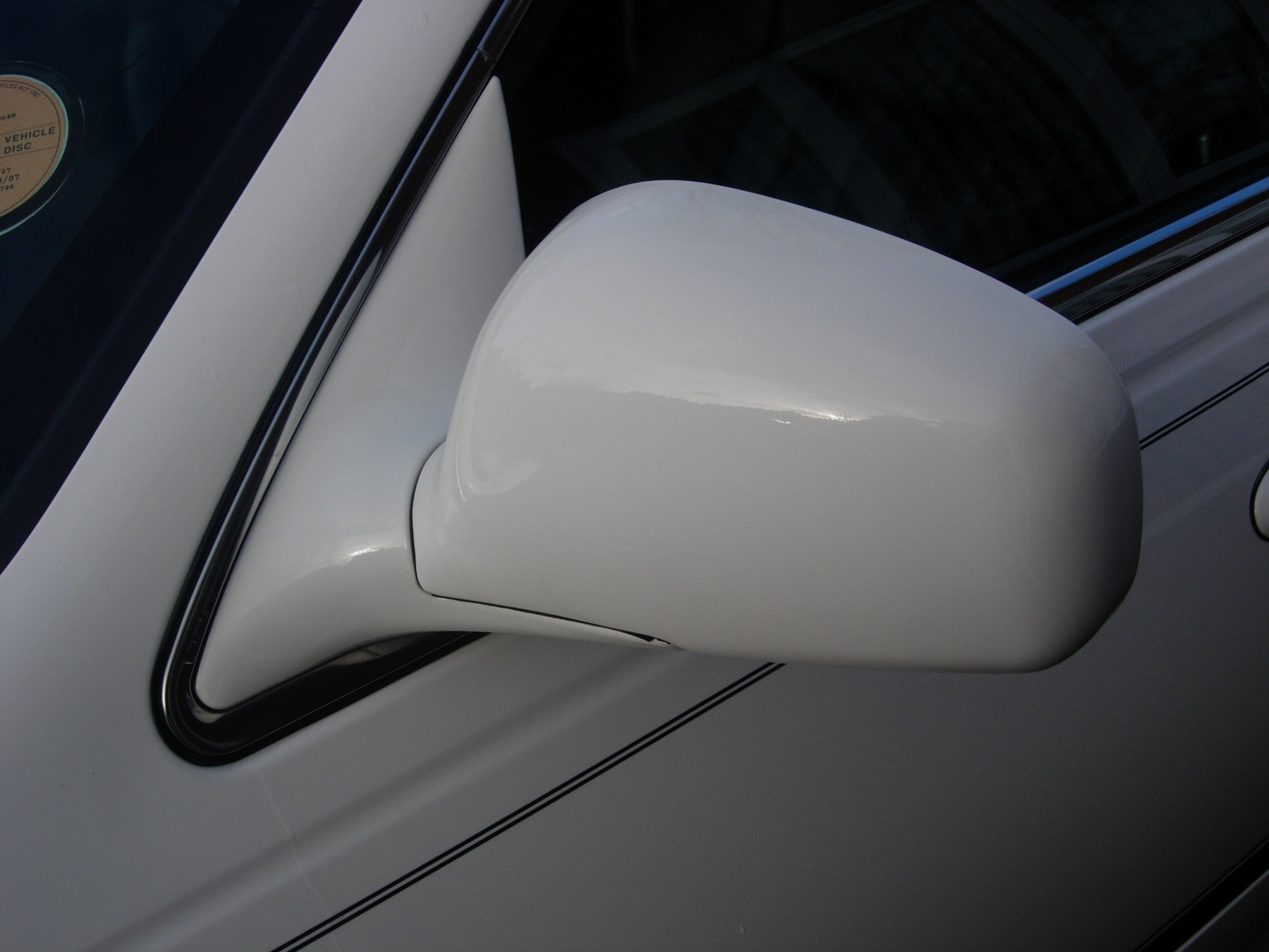 Drivers side wing mirror 03-08 town car