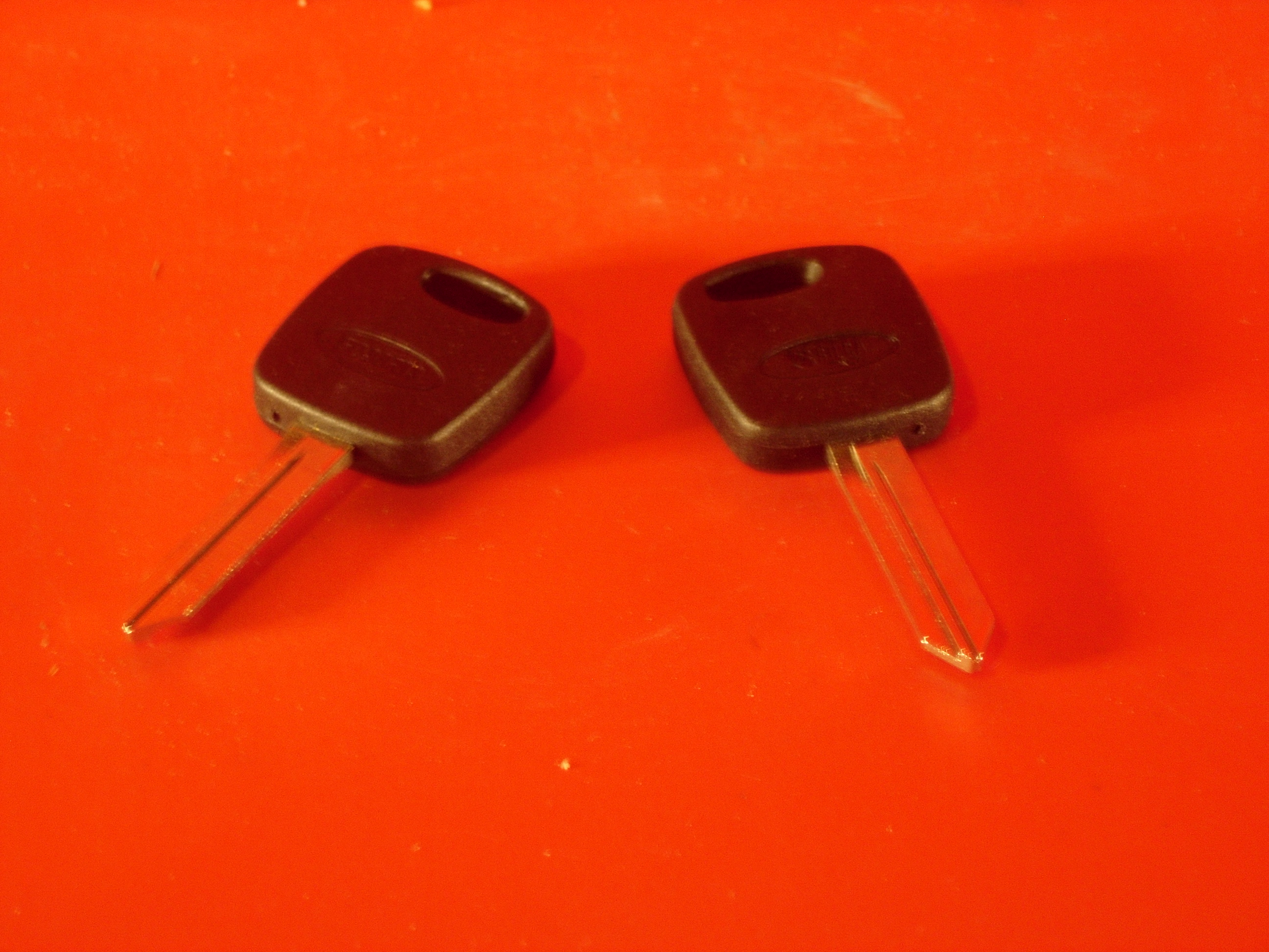 Ignition Key Blank (PATS)