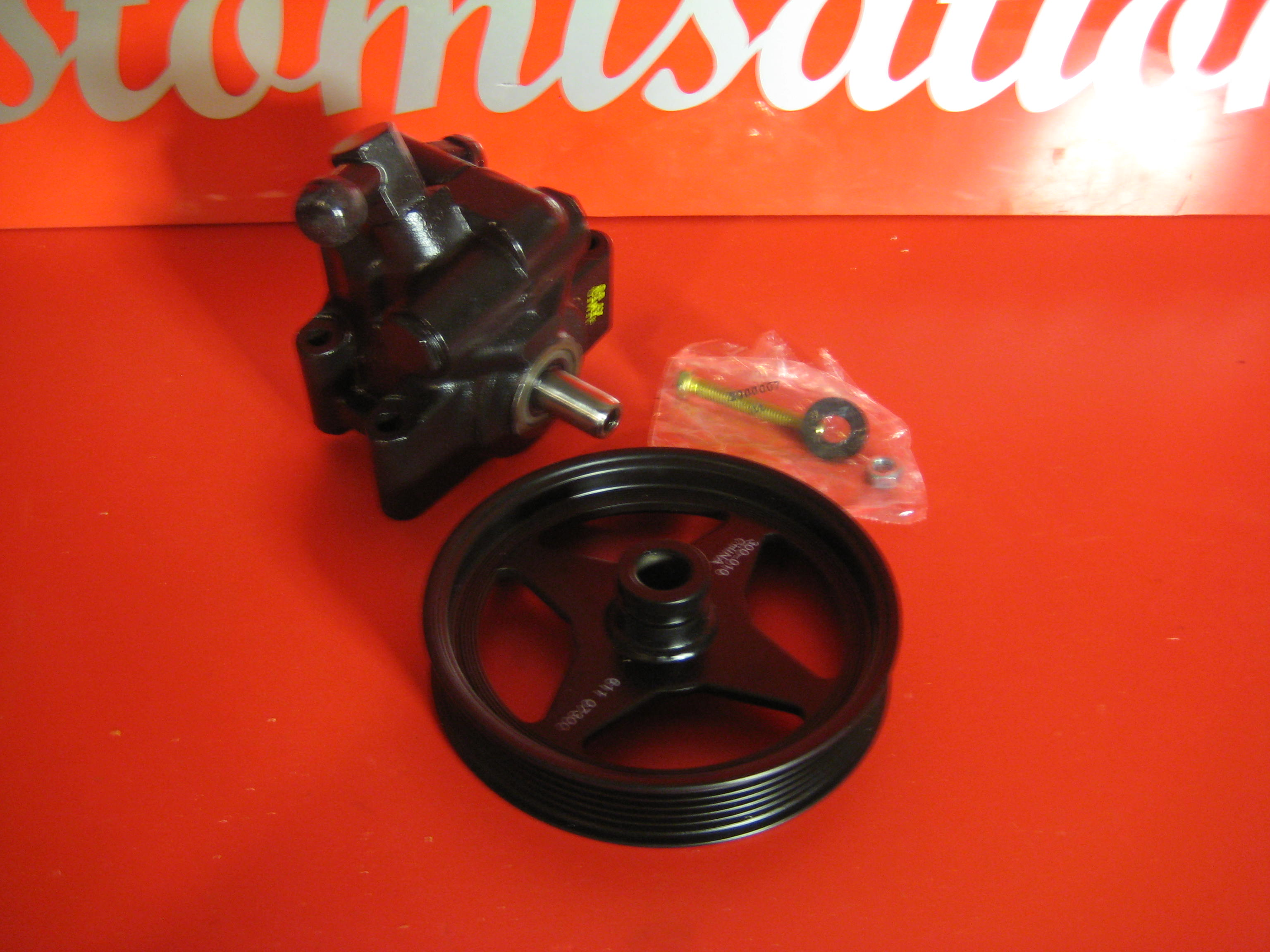 Power Steering Pump & pulley NEW for Navigator 98-03